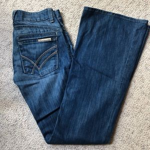 William Rast Flare Leg Jeans Sz 24